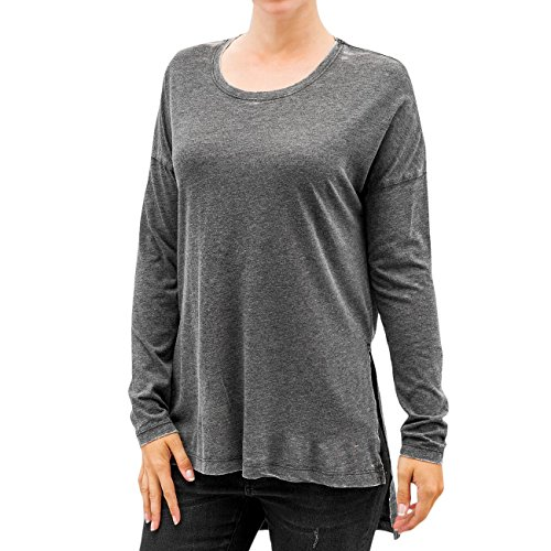 JACQUELINE de YONG Mujeres Ropa superior / Camiseta de manga larga JdyBurn L/S Tunic negro