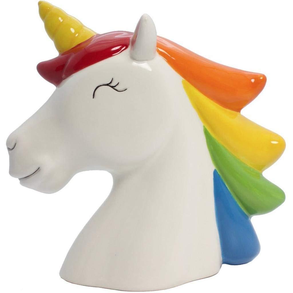 Streamline Rainbow Unicorn Money Bank SG/_B07B7FBF2M/_US