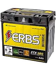 Bateria AGM Moto ERBS 12V 5Ah ETX 5BS HONDA BIZ 110I 100 KS DREAM CG 125 CARGO FAN TITAN 125I 150