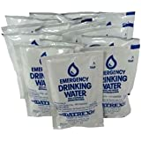 DATREX Emergency Water Pouch for Disaster or Survival, 125 ml Each