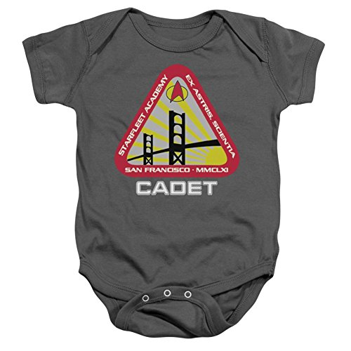 Infant: Star Trek- Starfleet Cadet Onesie Infant Onesie Size 0-6 (Star Trek Cloths)