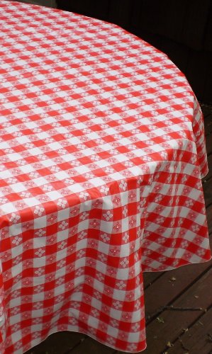 Blue Hill, Classic Red Tavern Check, Flannel Backed, Seamed, 90