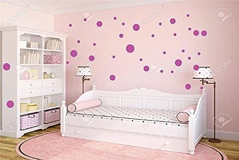 Decorazione Pareti Per Bambini : Adesivi pois per decorazione da parete camera bambini stickers