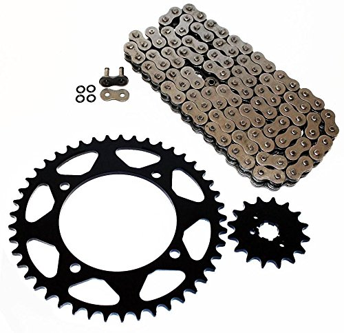 2014 O-ring Chain - Yamaha 1995-2008 XV250 Virago / 2009-2014 XV250 V-Star O Ring Chain & Sprocket