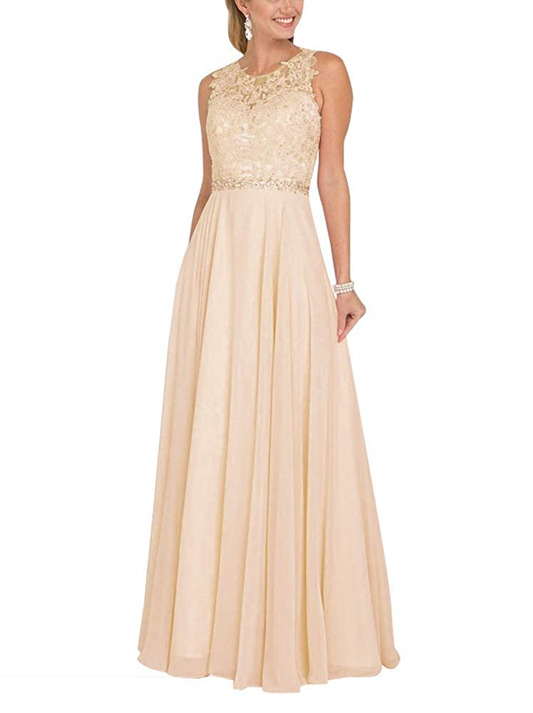 Champagne NewFex Sequin Bridesmaid Dresses Long Spaghetti Strap Formal Evening Gown with Split 2019