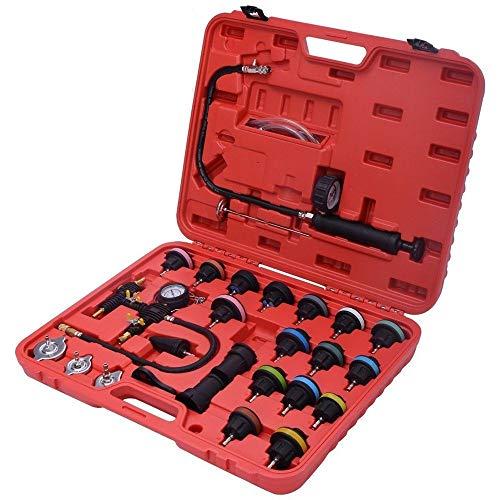 27 pcs Cooling System Pressure Tester Universal Radiator Pressure Tester Cooling System Kit Refill Kit - Cooling Saab System