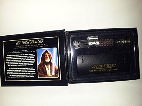 Star Wars Master Replicas Obi Wan Kenobi WEATHERED Scaled .45 Lightsaber RARE,SCALED REPLICA-EPISODE IV:A NEW - Master Wars Lightsabers Replicas Star