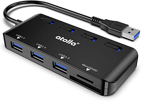 5 in 1 OTG Card reader USB HUB TF SD CardReader with OTG Adapter For USB and Micro USB Combined for Macbook PrinceShop