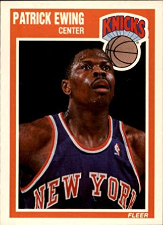 premium selection c3a39 ea8ab Amazon.com: 1989 Fleer Basketball Card (1989-90) #100 ...