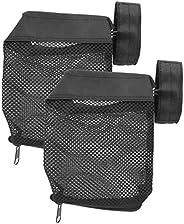 Black Brass Shell Catcher, 2pcs Zipper Bottom Shell Catcher Nylon Mesh Bag Cartridge Recycling Bag Brass Catch