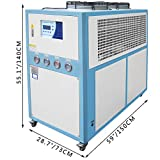 Mophorn 10 Tons Air-Cooled Industrial Chiller 10HP