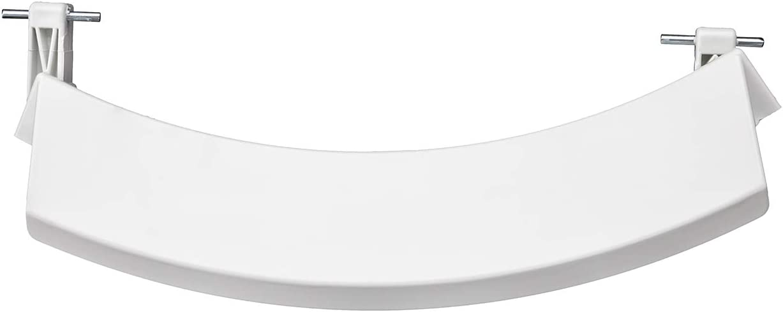 MIRTUX Maneta para Apertura y Cierre de Puerta Lavadora Bosch. Color Blanco. Código del recambio: 751782