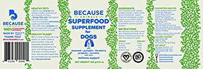 Superfood Supplement For Dogs