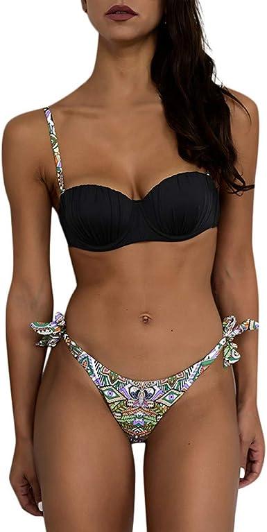 Ropa Trajes de Baño Hombre Lauren bañador para Hombre Lauren bañador para Hombre Bikini Trajes de Baño Mujer, Traje de Baño de una Pieza de Mujer Bikini de Vendaje Push-up Acolchado sin