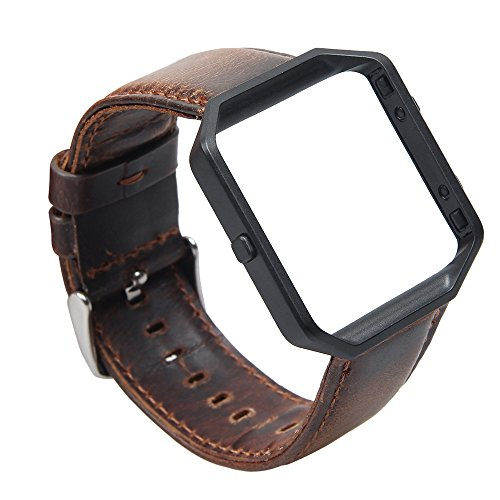 Genuine Leather Bracelet Replacement Stainless