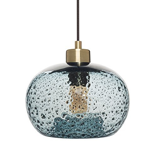 Small Blue Glass Pendant Lights in US - 2