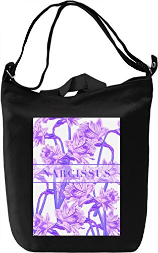 Narcissus Borsa Giornaliera Canvas Canvas Day Bag| 100% Premium Cotton Canvas| DTG Printing|