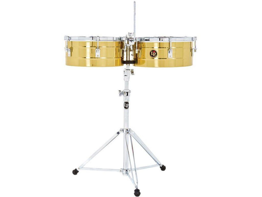 Lp Tito Puente 12'' & 13'' Brass Timbales by Latin Percussion (Image #1)
