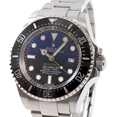 [ロレックス]ROLEX 腕時計 シードゥエラー ディープシー ディーブルー 116660 D-BLUE ランダム 中古[1302121] ランダム ブルー B07DPCPH7Y