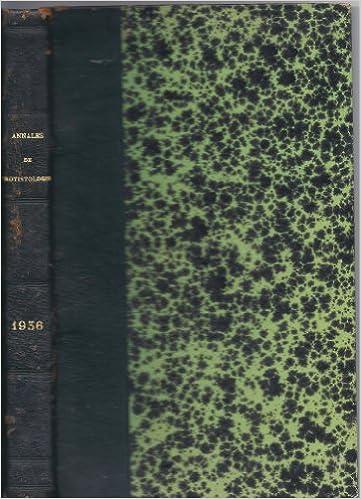 Lire un Annales de Protistologie - Recueil de travaux Originaux concernant la Biologie & la Sytématique des Protistes - Tome V - 1936 pdf ebook