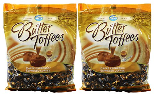 Arcor Coffee Butter Toffee Kosher Candy 2 Packs