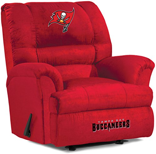 (Imperial Officially Licensed NFL Furniture: Big Daddy Microfiber Rocker Recliner, Tampa Bay Buccaneers )