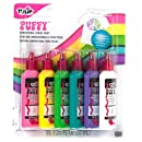 Tulip 20595 Dimensional Puffy Fabric Paint, 6-Pack