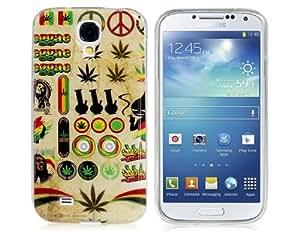 Conseguir Caso de goma de TPU Impresión brillante creativo para Samsung Galaxy S4 i9500