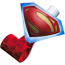 Superman Man of Steel Blowouts / Favors (8ct)