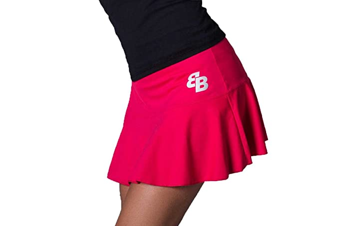 Desconocido Falda Basica Chica Frambuesa para Tenis Y Padel - XL ...