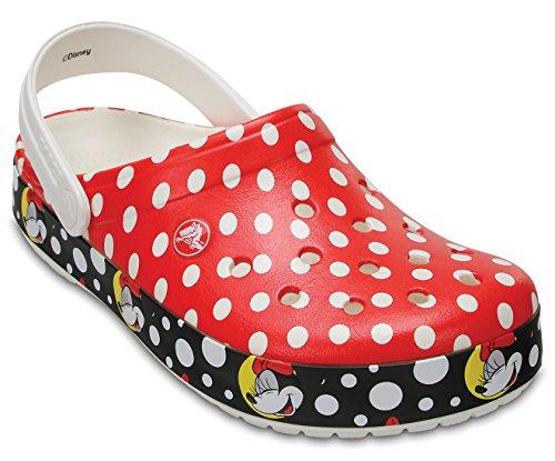 Clog Multi Crocs Mouse Minnie Women's Crocband wXq0xSBIF
