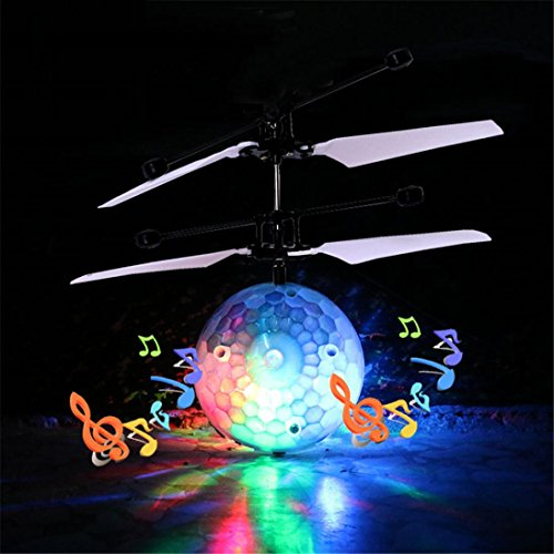 Movies That Start With The Letter X (Leegor RC Flying Ball Drone Music Helicopter Induction Aircraft Built-in Shinning LED Lighting Toy Magic crystal flying toys Christmas Gift)