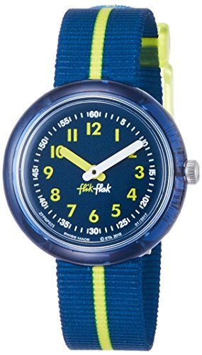 Flik Flak Girls  Analogue Quartz Watch with Textile Strap FPNP023   Amazon.co.uk  Watches 20c349b1db9
