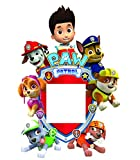 Paw Patrol Light Switch Surround Plug Wall Stickers Girls Boys Vinyl Art Decals