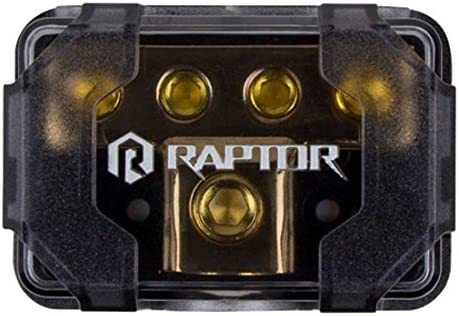 Raptor R4DB2 MID SERIES - 4-Position Ground Distribution Block 517z38sTTcL