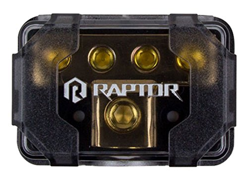 Raptor R4DB2 MID SERIES - 4-Position Ground Distribution Block