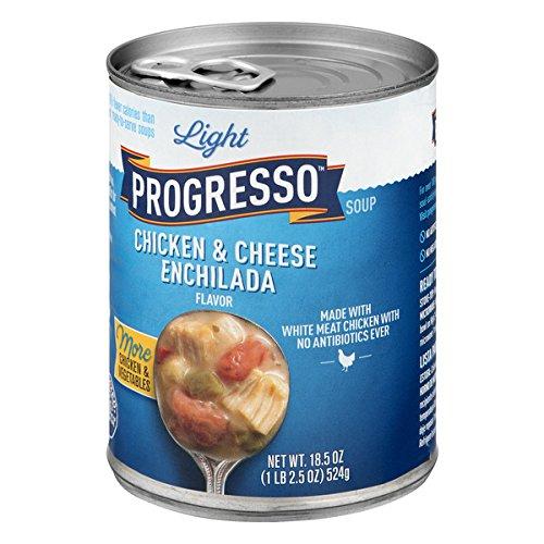 (Progresso Light Chicken & Cheese Enchilada Soup 18.5 oz Pull-Top Can)