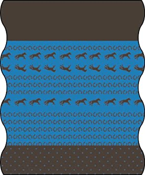 Lässig Bambini multi funzione Tuch Twister Kids in pile Horse, multicolore, taglia unica, LTEXT22034