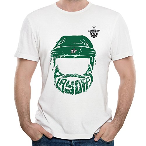 Dallas Stars Stanley Cup Playoffs Bound Bearded We Want The Cup 2016 Mens T-shirt