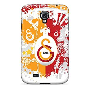 Tpu Case Cover For Galaxy S4 Strong Protect Case - Galatasaray 1905 Design