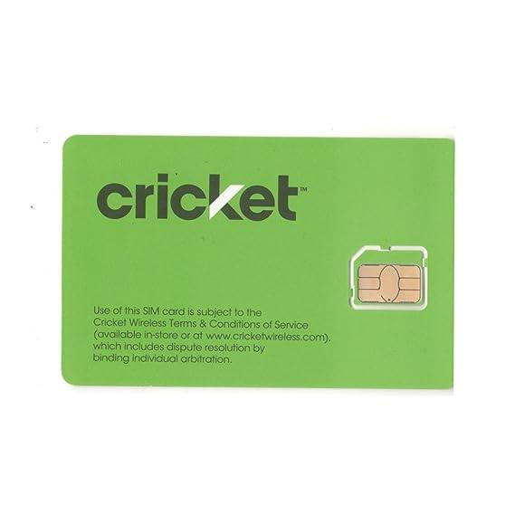 Amazon.com: Cricket 4 G teléfono inteligente micro tarjeta ...