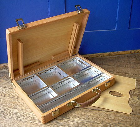 Mabef Beechwood Sketch Box #101- Medium 10 x 14 Inches by Mabef
