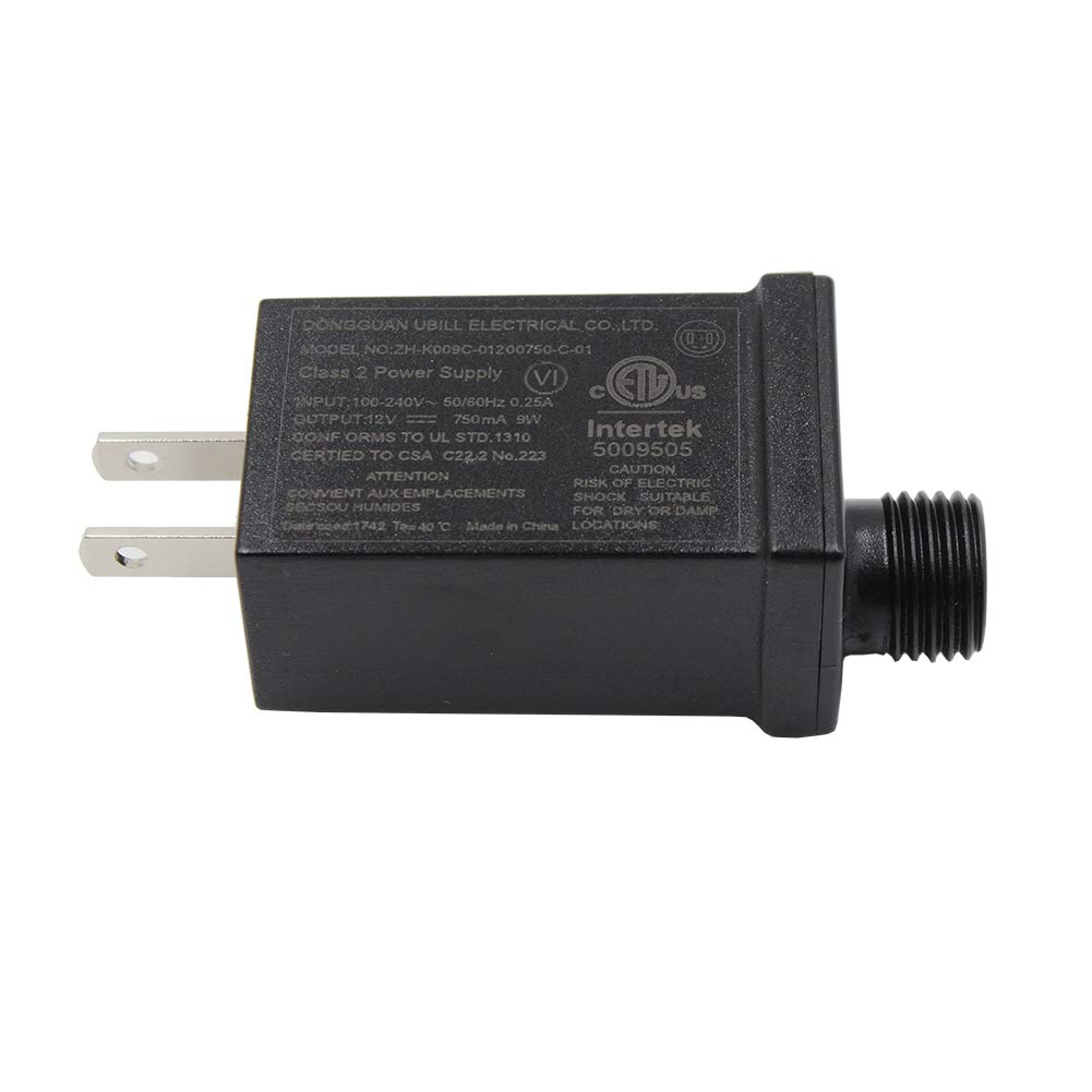 31V9W LED Power Supply, Autbye Waterproof IP44 Low Voltage Seasonal Use LED Driver Transformer, US Plug LED Adapter(31V9W) Shen Aotebai Technology Co. ltd