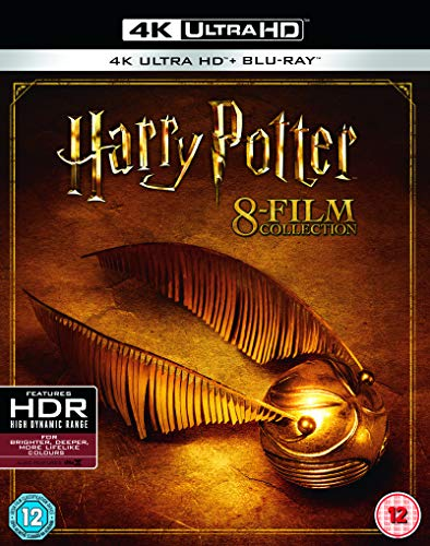 Amazon Com Harry Potter Complete Collection Edition United Kingdom Blu Ray Movies Tv