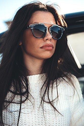Naranja Ebano VAN estilo TWIG hombre de sol mujer GOGH Gafas madera pzFqvwxt