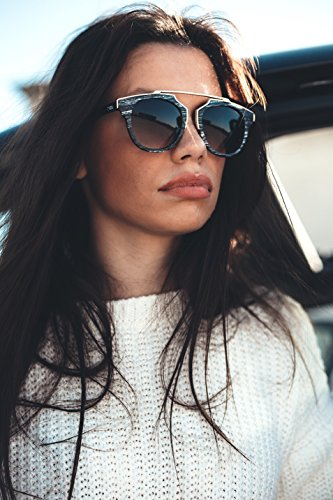 Gafas GOGH Chestnut TWIG VAN madera hombre mujer de Naranja estilo sol rZIwnzrqT