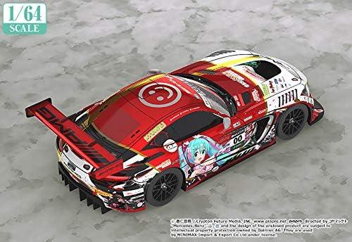 Multicolor 10 Hours Version Good Smile Racing Hatsune Miku GT Project: 1:64 Scale Mercedes-AMG Team Good Smile 2019 Suzuka Miniature Car