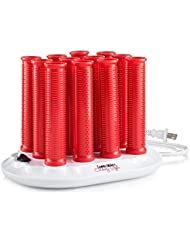 Hot Rollers - Ionic, Instant Heat, For Short and Long Hair 1 Inch Diameter; Set of 12 - Long