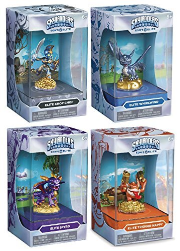 Skylanders Limited Edition Eon's Elite Collector Series Series 1 Case Includes Whirlwind Trigger Happy Spyro Chop Chop -