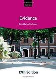 Evidence, City Law School Staff, 0198714416